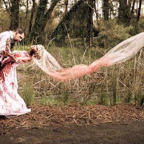 Zombie Wedding by Adz King - Wedding Other ( lust, wedding, blood, zombies )