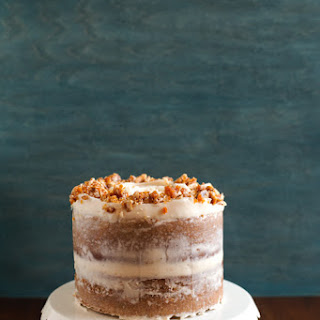 Hazelnut Crunch Pumpkin Cake