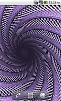 Screenshot of Hypnotic Live Wallpaper