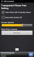 Screenshot of Transparent Phone Free