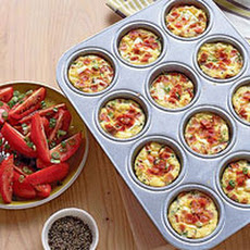 Mini Ham and Egg Casseroles