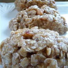 Peanut Butter and Honey No-Bake Cookies