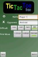 Screenshot of TicTacToe Pro Free