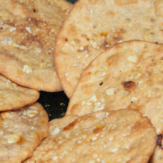 Choco-Oats Puris (Indian fried flat bread)