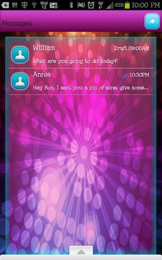 GO SMS - Color Burst