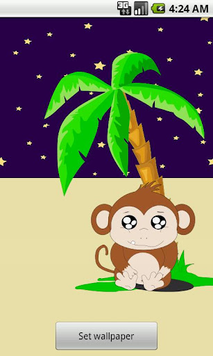 Andy the Monkey Live Wallpaper