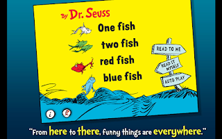 Screenshot of One Fish Two Fish - Dr. Seuss