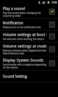 Volume control free - screenshot
