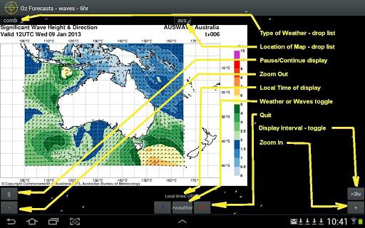 OzForecasts - screenshot