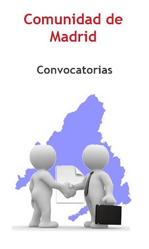 Convoc. Comunidad Madrid Free