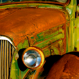 Service Done by Dennis Robertson - Transportation Automobiles ( old truck )