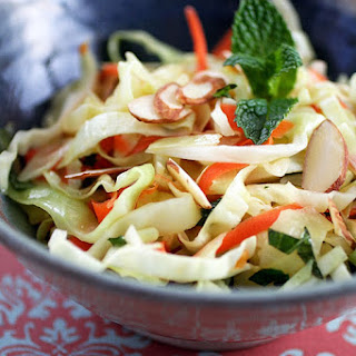 Warm Coleslaw with Chili-Lime Dressing