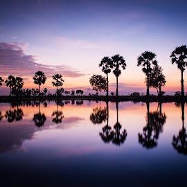 Symmetry by Phuong Leba - Landscapes Sunsets & Sunrises