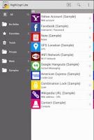 Screenshot of HighCrypt Password Manager LT