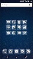 Screenshot of Glasklart - Icon Pack