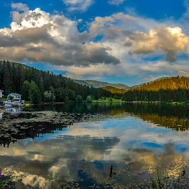 lake by Enver Karanfil - Landscapes Mountains & Hills ( artvin, d80, şavşat, forest, lake, turkey, nikon )
