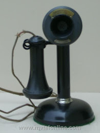 Candlestick Phones - Monarch Candlestick $225 1