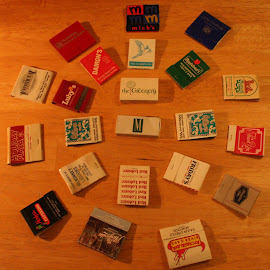 Matches by Patricia Simpson-Green - Artistic Objects Other Objects