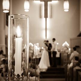 Love is a Flame  by Brooke Beauregard - Wedding Details