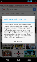 Screenshot of Neuland Merkel Browser 1.0