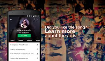 Screenshot of Palco MP3
