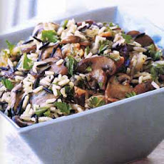 Wild Rice Stuffing with Wild Mushrooms