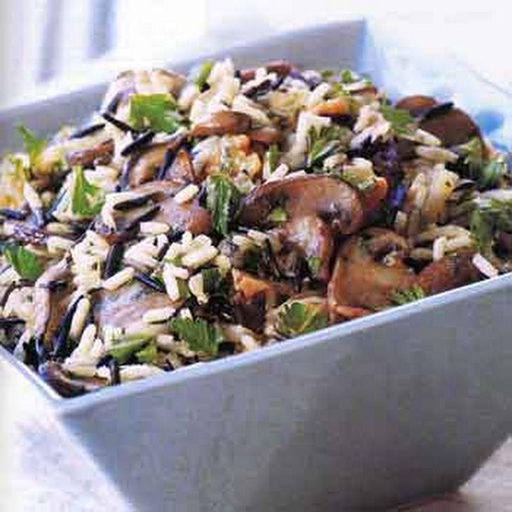 Wild Rice Stuffing with Wild Mushrooms Recept | Yummly