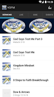 Screenshot of Voices Of Faith Ministries