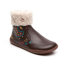 Camper Embroidered Leather Boot BOOTS