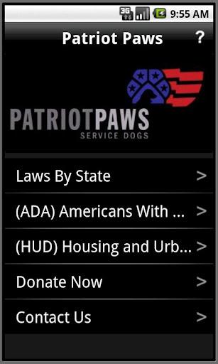 Patriot Paws ADA