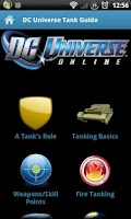 Screenshot of DC Universe Tank Guide