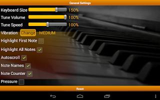 Screenshot of Piano Melody Free