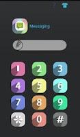 Screenshot of HI AppLock (Color Theme)
