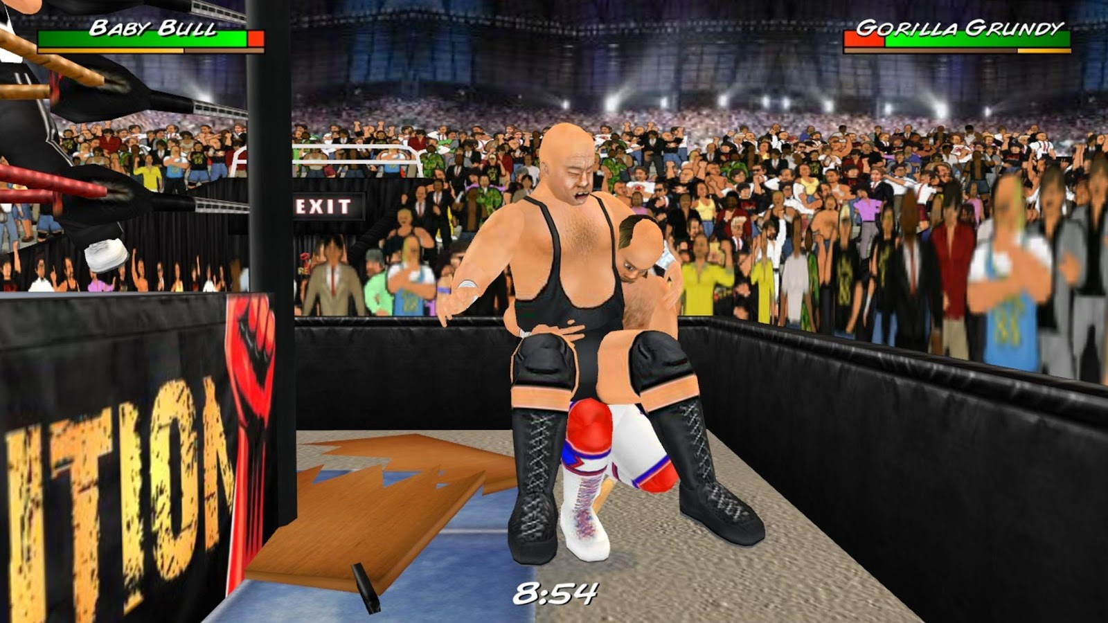 Wrestling Revolution 3D Screenshot 14