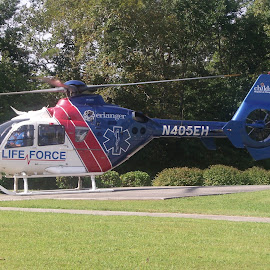 by Janet Blackwell Wilson - Transportation Helicopters