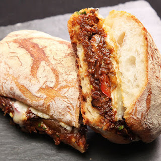 Braised Oxtail and Gruyère Sandwiches