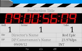 Screenshot of SL DigiSlate