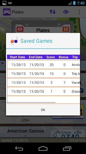 Plates Family Travel Game - screenshot