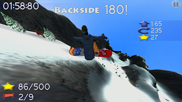 Screenshot of B.M.Snowboard Free