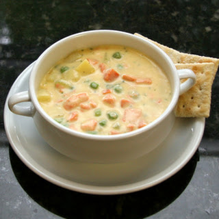 Fresh Salmon Chowder