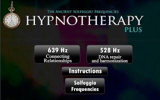 Screenshot of Hypnotherapy