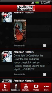 American Horrors Mobile - screenshot