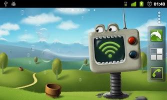 Screenshot of Alive TV Live Wallpaper