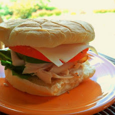 Turkey N' Chives Sandwich