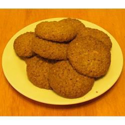 Zesty Oatmeal Cookies