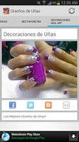 Screenshot of Designs Nail Arts