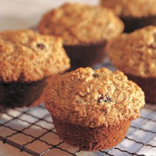 Honey-Raisin Bran Muffins