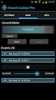 Screenshot of Sound Asleep Pro