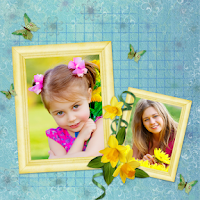 Screenshot of Flower Photo Collages