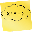 Multiplication table learning icon